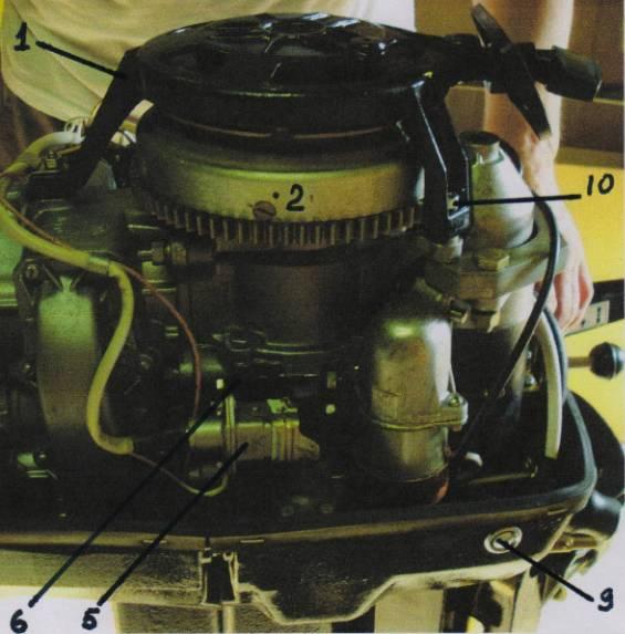 Стартер лодочного мотора своими руками 167