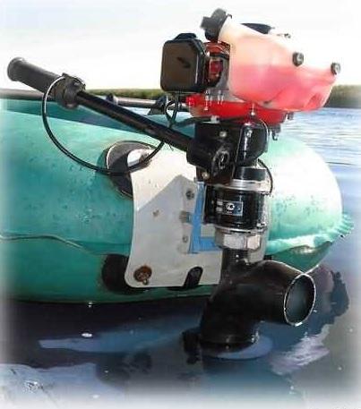Водометный лодочный мотор Микроша-М
