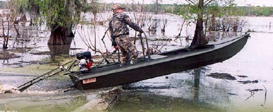 Лодки болотоходы Го-Девил