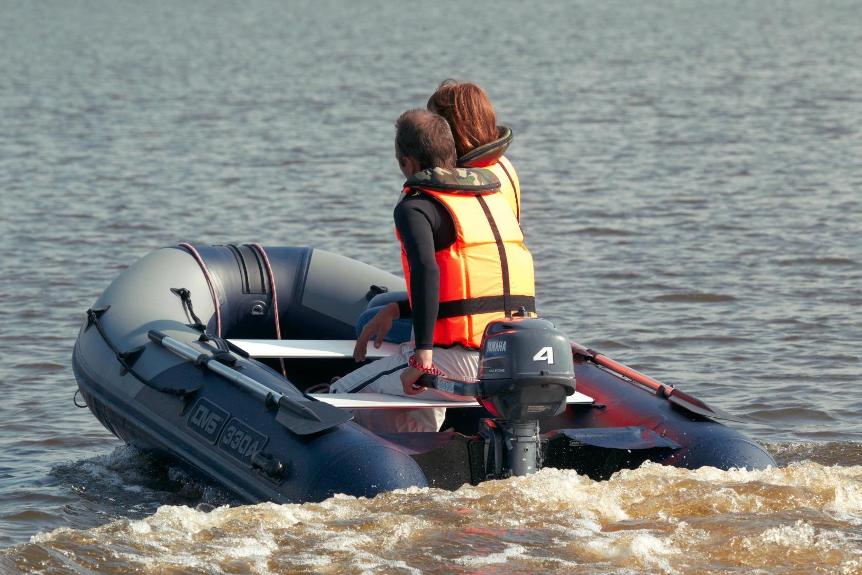 Моторная лодка ПВХ ДМБ Альфа-330