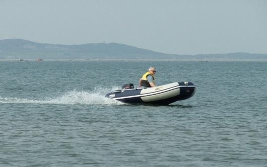 Моторная лодка ПВХ ДМБ Альфа-360
