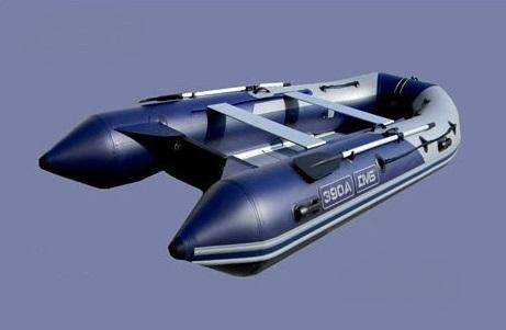 Моторная лодка ПВХ ДМБ Альфа-390