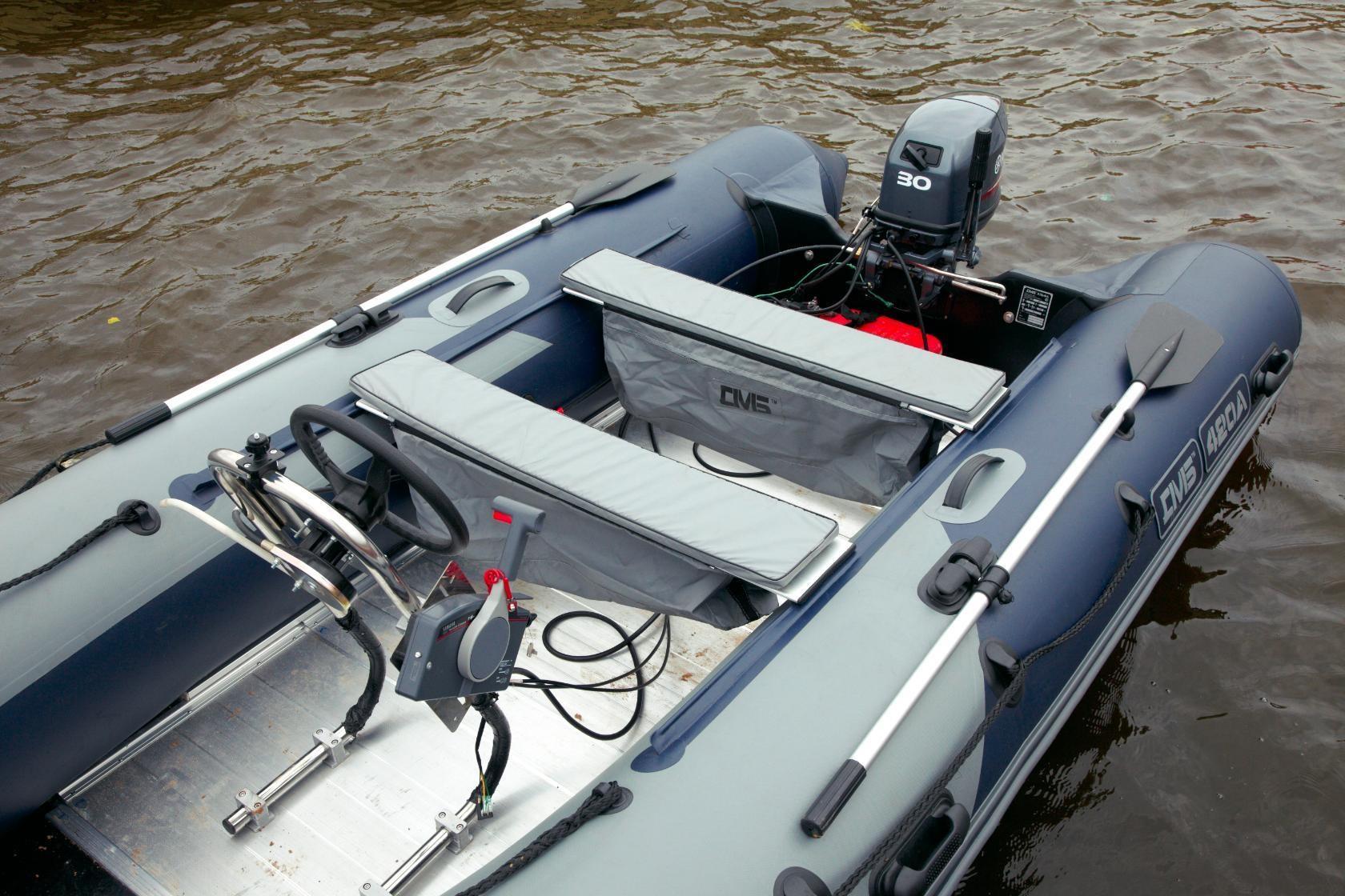 Дистанция для надувной лодки