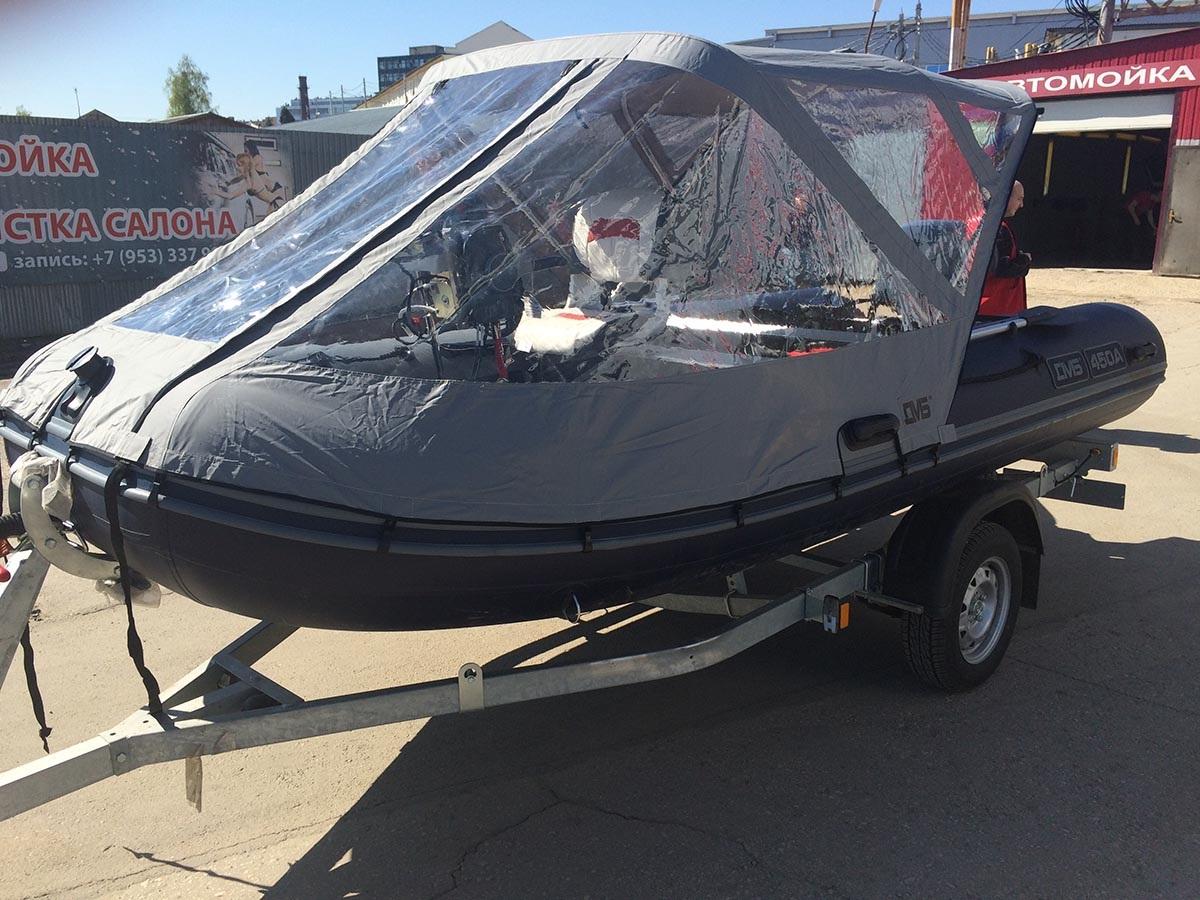 Моторная лодка ПВХ ДМБ Альфа-450