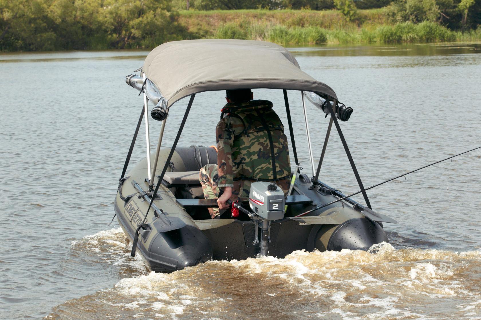 Моторная лодка ПВХ ДМБ Дельта-270