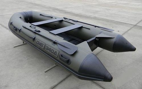 Моторная лодка ПВХ ДМБ Дельта-340