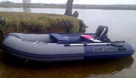 Моторная лодка ПВХ ДМБ Омега-330