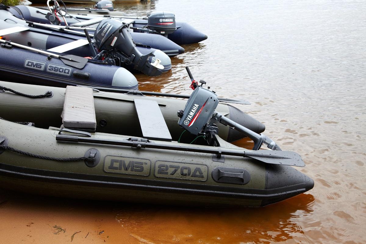 Моторная лодка ПВХ ДМБ Омега-390