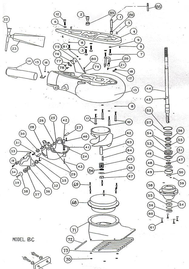 меркурий 5 л.с 2 тактный инструкция - фото 4