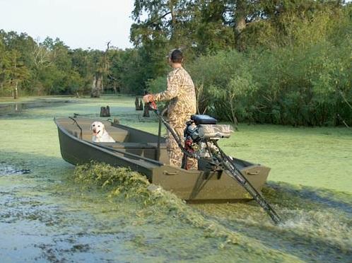 Как сделать лодочный болотоход своими руками