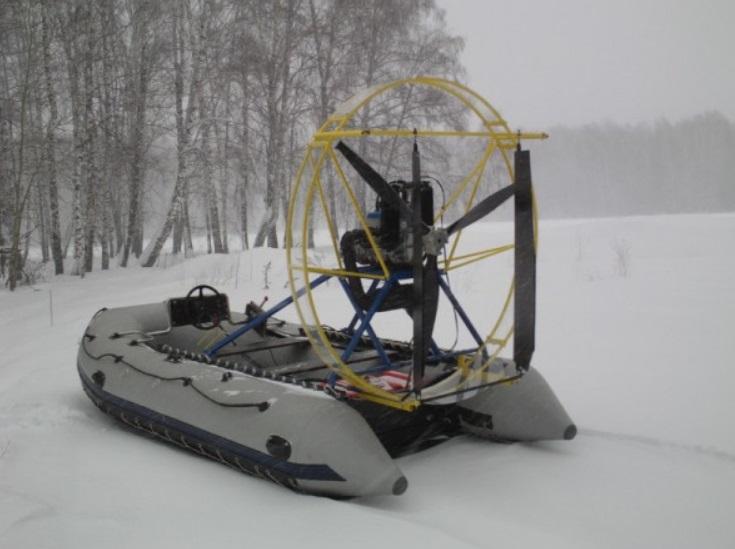 Моторная лодка АэроСолар-420