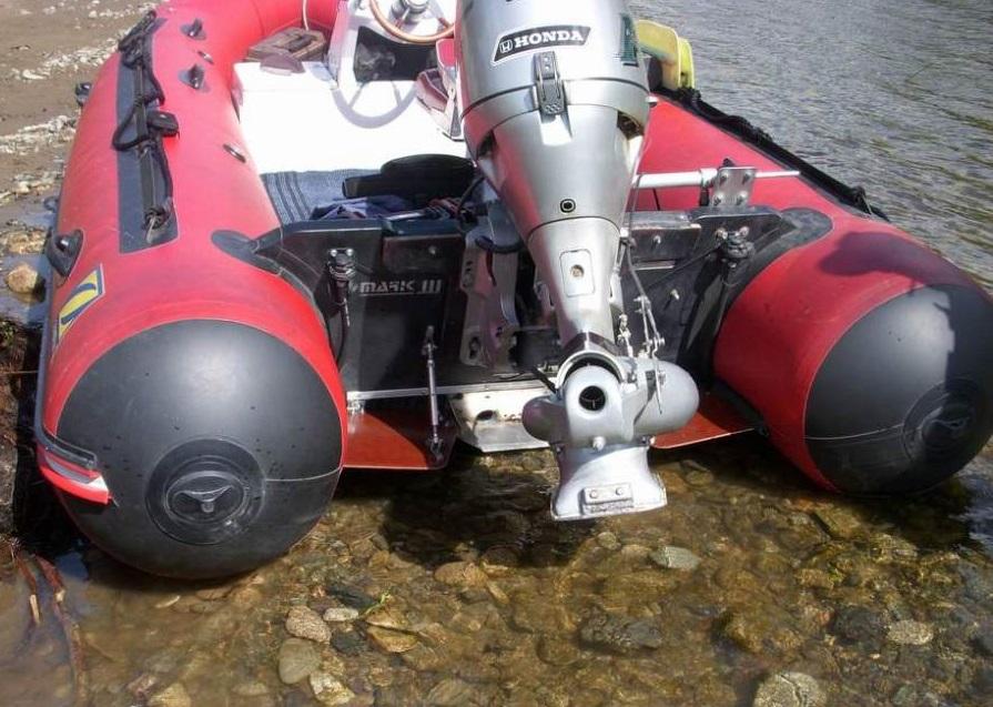 водометные насадки на лодочные моторы honda