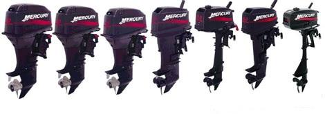 Лодочные моторы Mercury двухтактные