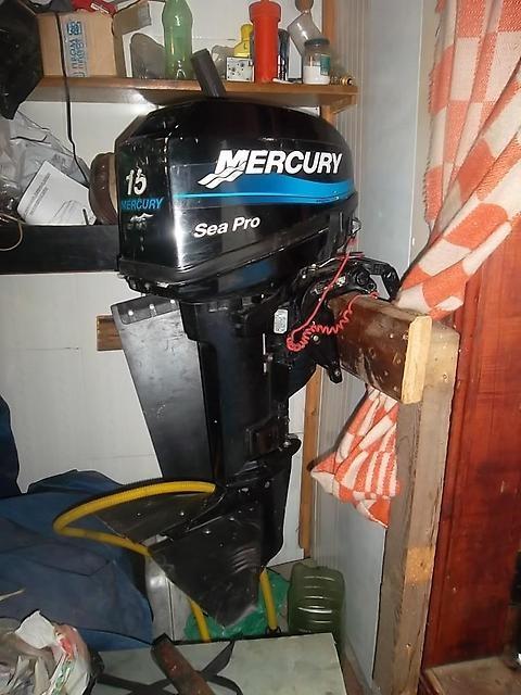 Лодочный мотор Mercury ME 15 ML Sea Pro