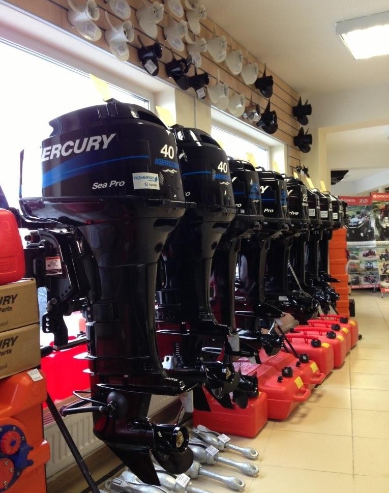 Лодочный мотор Mercury ME F40 ELLHGABT 4S EFI Sea Pro