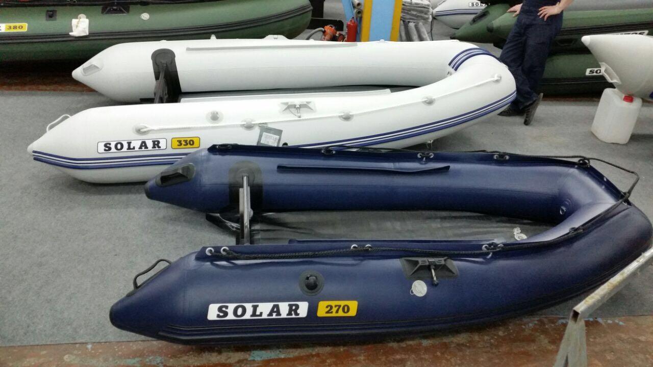 Моторная лодка Солар Максима-270
