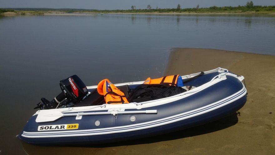 Моторная лодка Солар Оптима-330