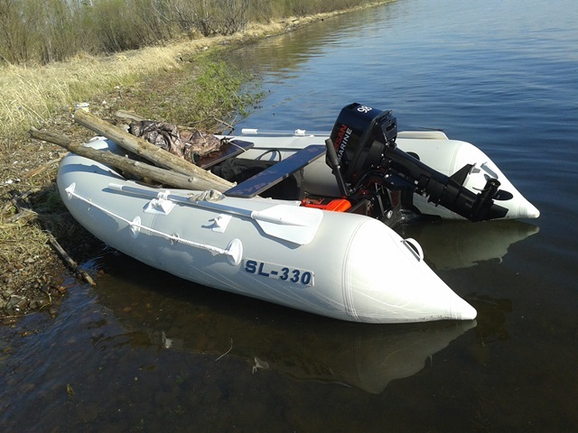 Моторная лодка Солар SL-330