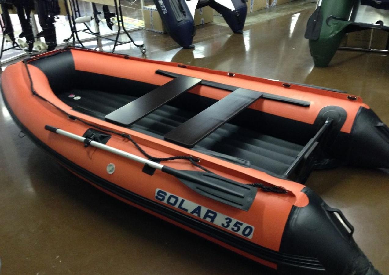 Моторная лодка Солар Максима-350