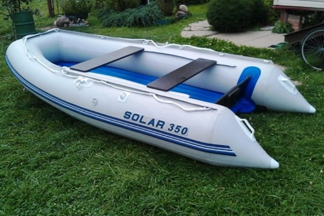 Моторная лодка Солар Оптима-350