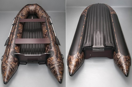 Моторная лодка Солар-380 Джет