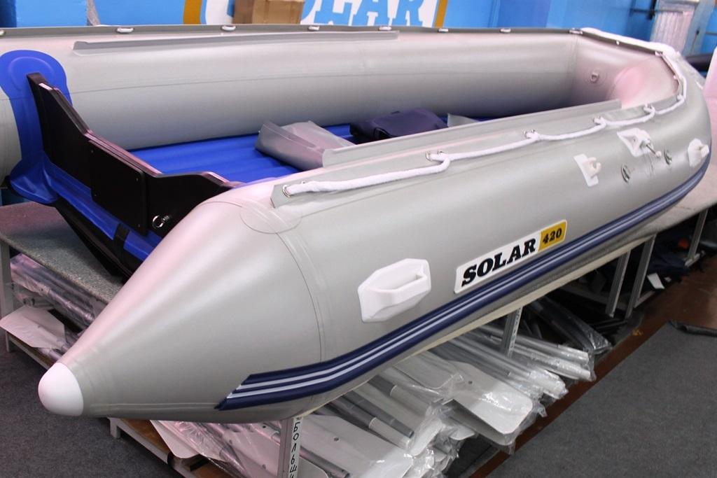 купить лодку пвх с надувным дном солар