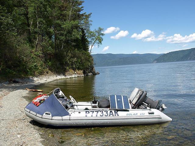 Моторная лодка Солар Максима-450 К