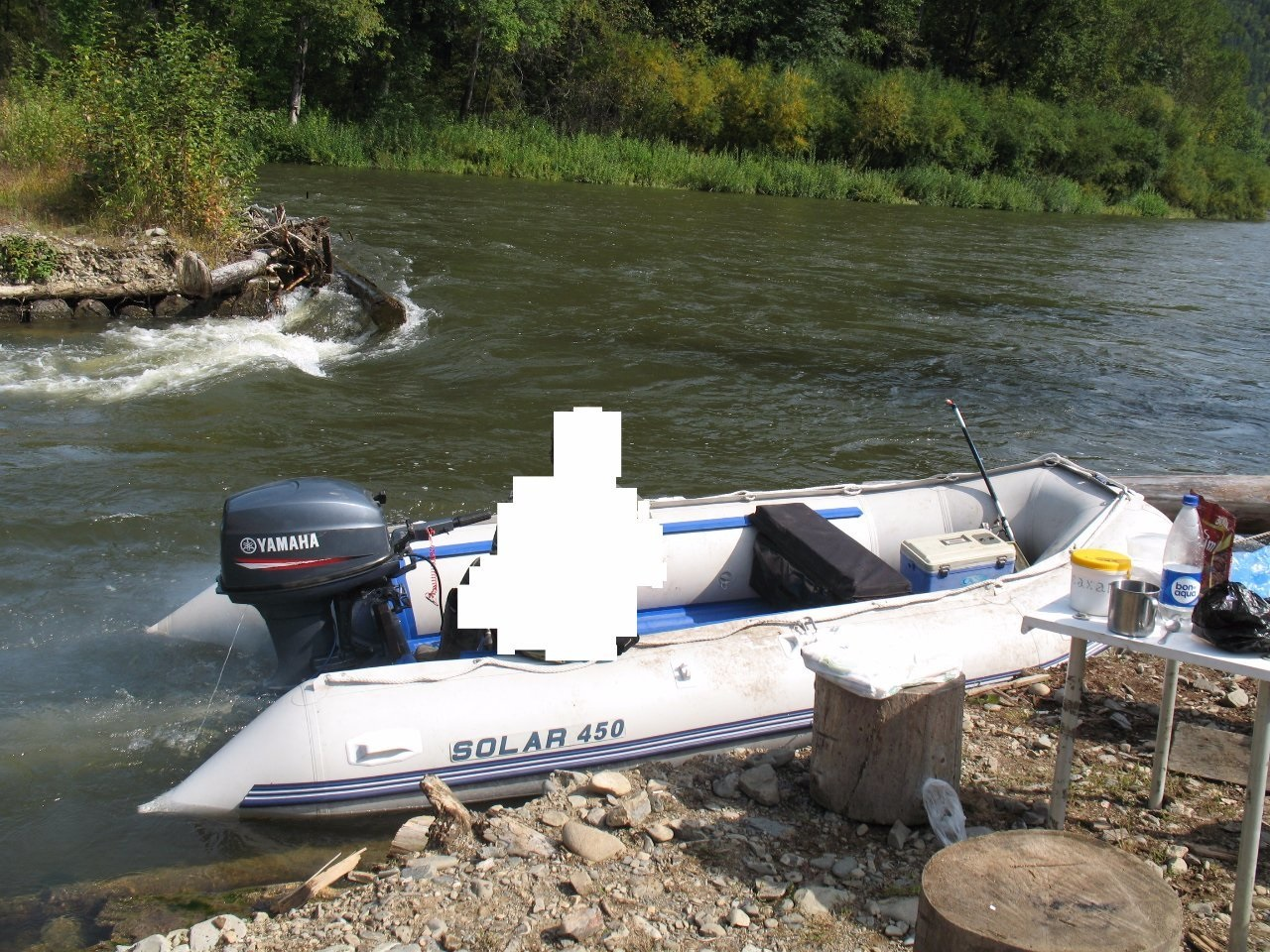 Моторная лодка Солар-450 МК