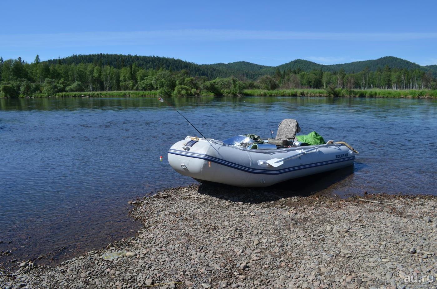 лодка для сплава солар