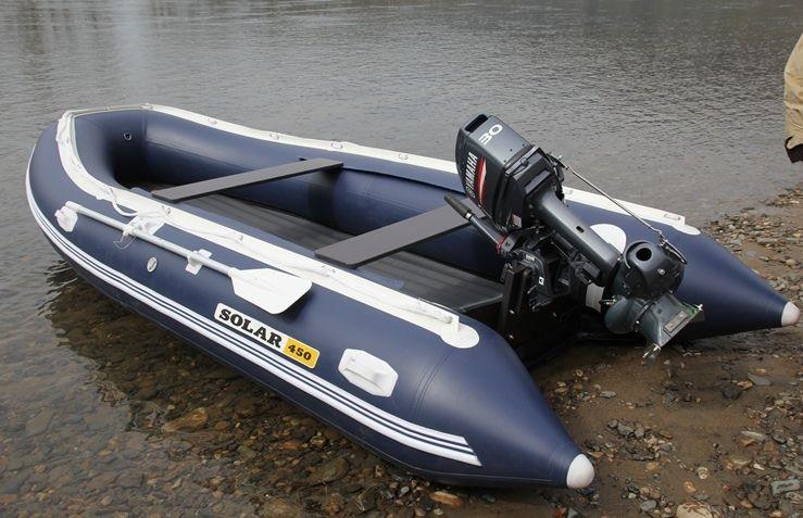Моторная лодка Солар-450 Джет