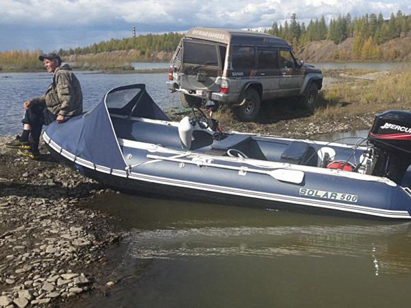 Моторная лодка Солар-500 Джет