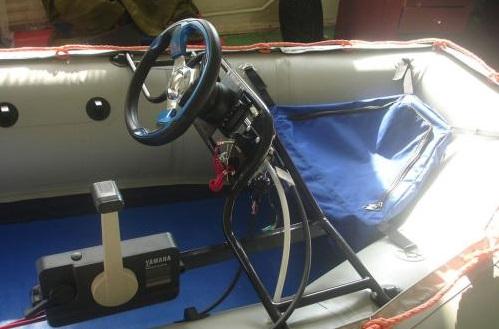 Дистанционное управление мотором на пвх лодке
