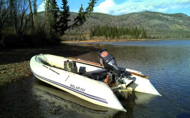 Моторная лодка Солар-555 МК
