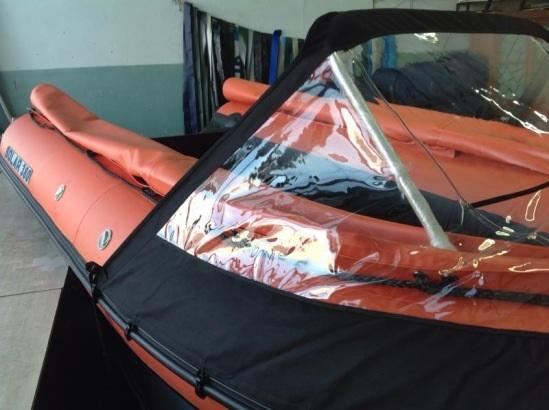 прозрачная ткани для лодок