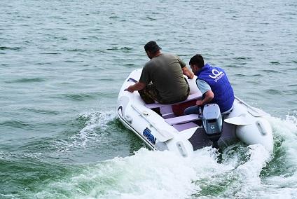 Моторная-гребная лодка ПВХ Штормлайн-310