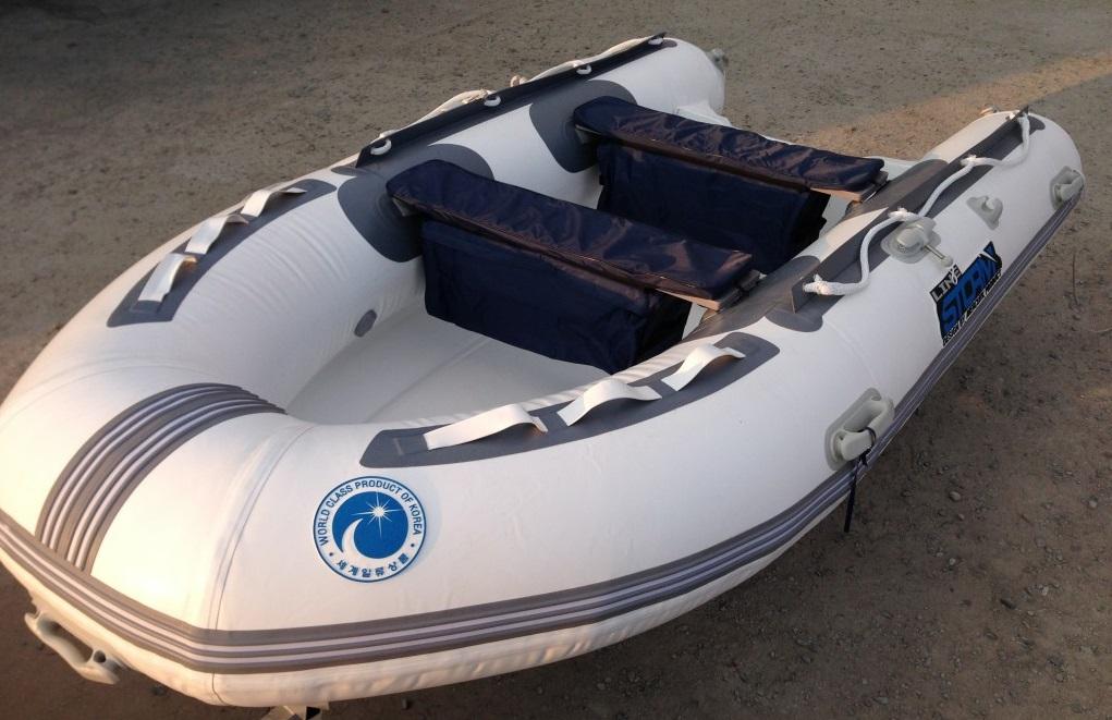 Моторная-гребная лодка ПВХ Штормлайн-340