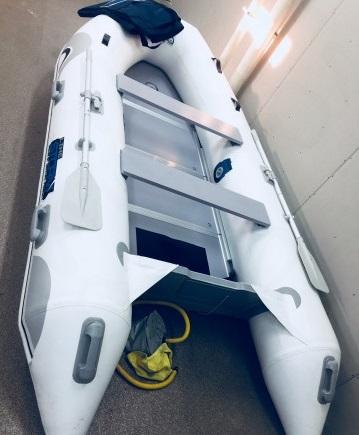 Моторная-гребная лодка ПВХ Штормлайн-360