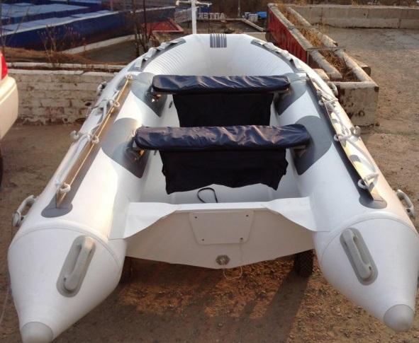 Моторная-гребная лодка ПВХ Штормлайн-400