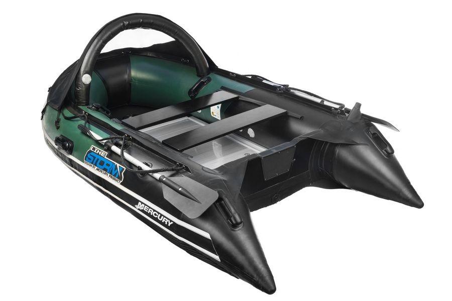 Надувная лодка ПВХ Штормлайн Адвентура Экстра. Фотообзор модели.