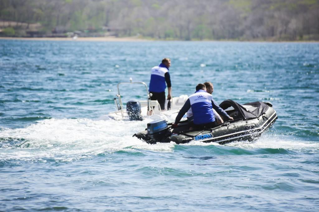 Моторная-гребная лодка ПВХ Штормлайн Адвентура Экстра-240