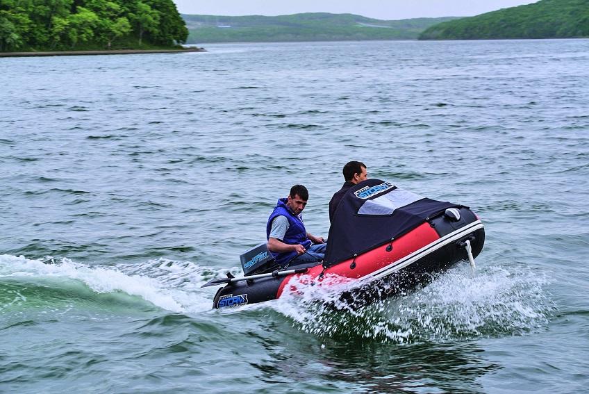 Моторная-гребная лодка ПВХ Штормлайн Адвентура Экстра-270