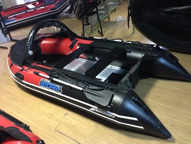 Моторная-гребная лодка ПВХ Штормлайн Адвентура Экстра-310