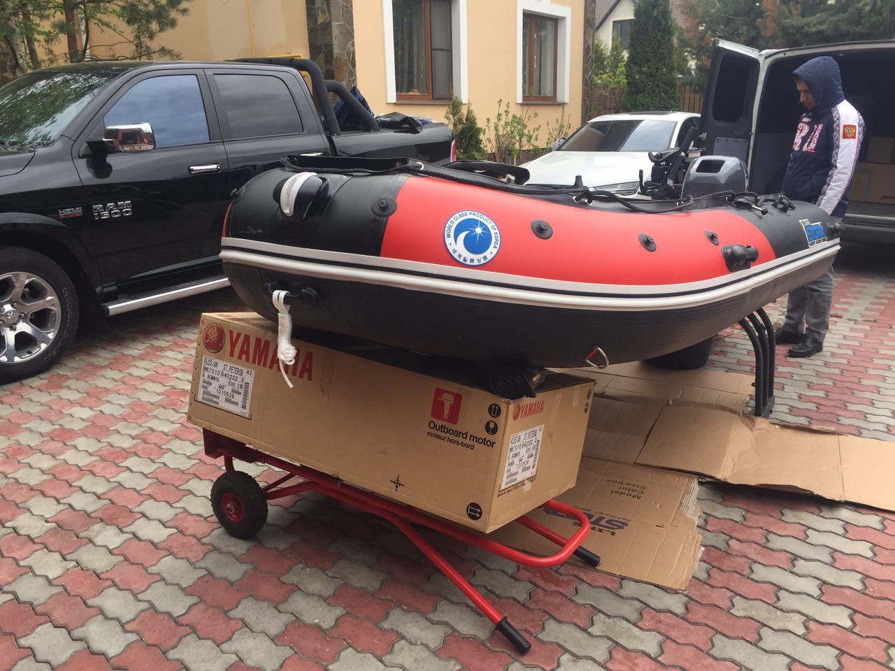 Моторная-гребная лодка ПВХ Штормлайн Адвентура Экстра-360
