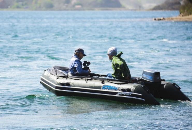 Моторная-гребная лодка ПВХ Штормлайн Адвентура Экстра-380