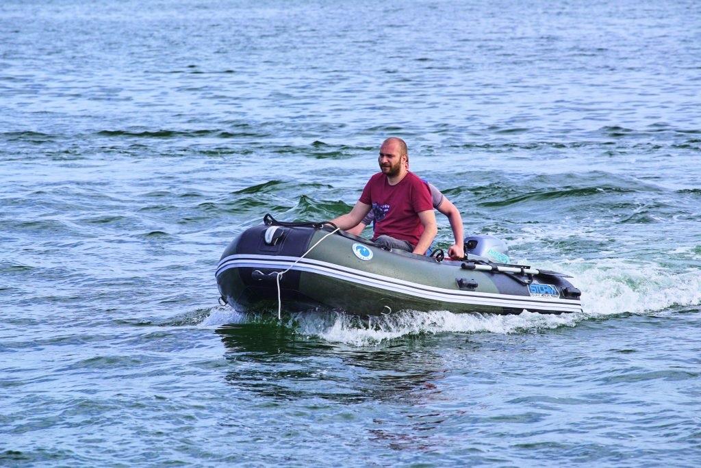 Моторная-гребная лодка ПВХ Штормлайн Адвентура Стандарт-240