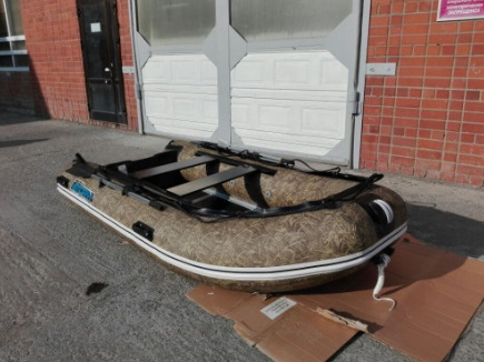 Моторная-гребная лодка ПВХ Штормлайн Адвентура Стандарт-340