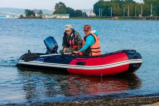 Моторная-гребная лодка ПВХ Штормлайн Адвентура Стандарт-400