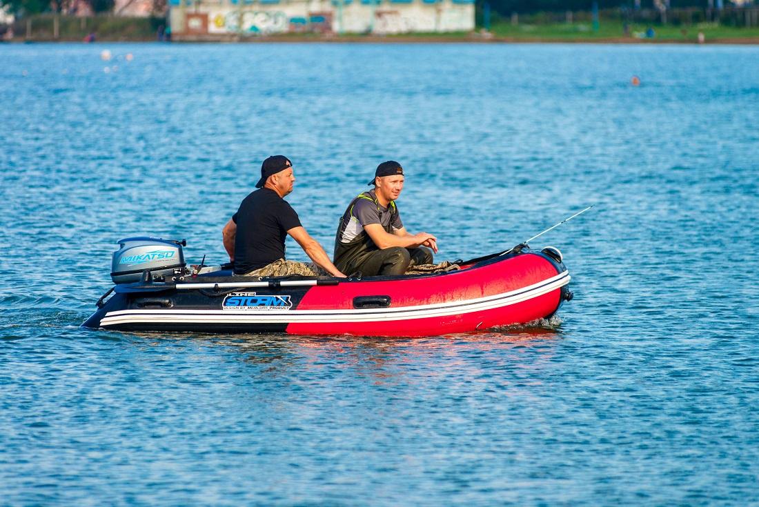 Моторная-гребная лодка ПВХ Штормлайн Адвентура Стандарт-430