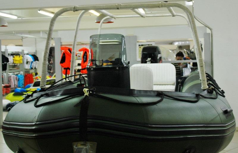Моторная-гребная лодка ПВХ Штормлайн Адвентура Стандарт-530