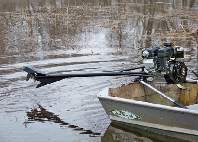 Подвесной лодочный болотоход Stump-Jamper